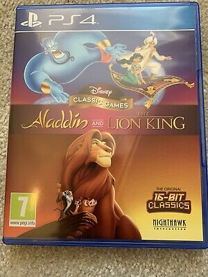Disney Classic Games: Aladdin and The Lion King (PlayStation