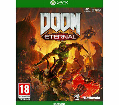 Doom Eternal (Xbox One) BRAND NEW AND SEALED