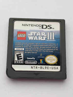 LEGO Star Wars III 3: The Clone Wars - Nintendo DS Game -