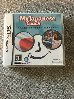 My Japanese Coach Nintendo DS Game Japan Language Learning