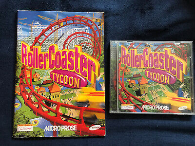 Rollercoaster Tycoon Original- Simulation Game (PC CD ROM