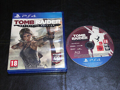 Tomb Raider -- Definitive Edition (Sony PlayStation )