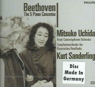 Beethoven: Complete Piano Concertos [3 Discs] by Mitsuko