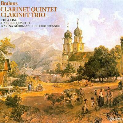 Brahms: Clarinet Quintet; Clarinet Trio by J. Brahms.