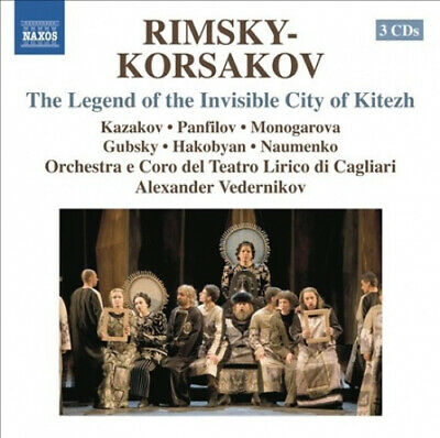 Legend of the Invisible City of Kitezh by NIKOLAY ANDRE
