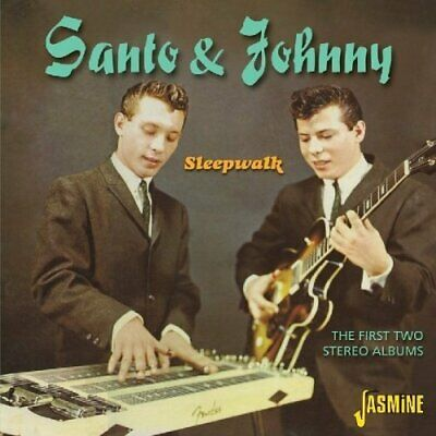 SANTO & JOHNNY - FIRST TWO STEREO ALBUMS NEW CD