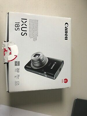 Brand new in box CANON IXUS 185 Compact Camera - Black