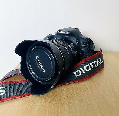 Canon EOS 700D 18.0MP Digital SLR Camera. With Canon mm