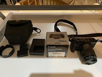 Canon EOS M MP Digital Camera Kit with EF-M mm
