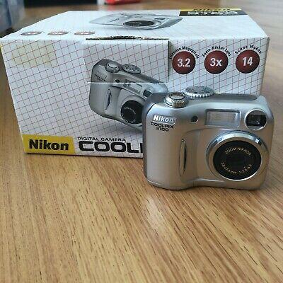 Nikon COOLPIX MP Digital Camera - Silver, Boxed