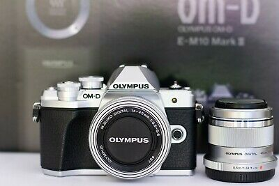 Olympus OM-D E-M10 Mark III Silver (Kitmm EZ lens and