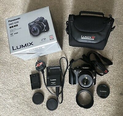 Panasonic LUMIX DMC-G3K 16.0MP Digital Camera - Black (Kit