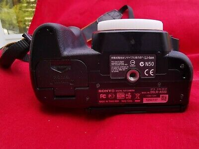 Sony Alpha A500L 12.3MP Digital SLR Camera - Black (Kit w/