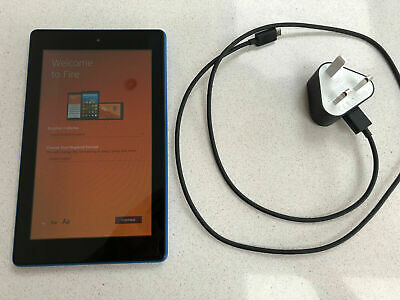 Amazon Fire 7 Tablet 7 inch 16GB Storage - 7th Gen - Blue