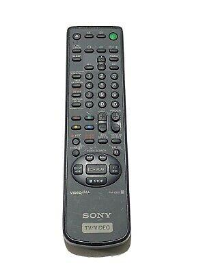 Genuine Original Sony RM-C811 TV/VCR Remote Control Tested