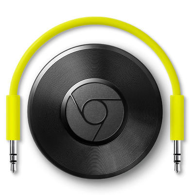 Google Chromecast Audio 2nd Generation Media Streamer -