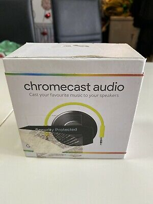 Google Chromecast Audio 2nd Generation Music Media Streamer
