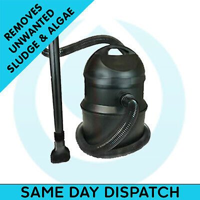 Swell UK Pond Sludge Vacuum Vac Cleaner Silt Hoover Water