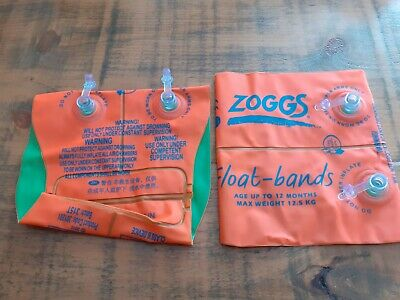 Zoggs Kid's Swimming Pool Float Armbands Up to 12 Months,