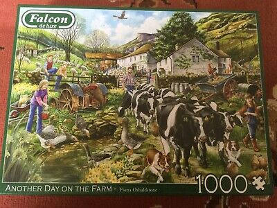 Another Day on the Farm  Piece Jigsaw Puzzle, by Falcon