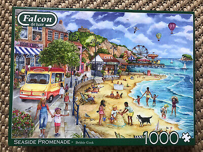 Falcon Deluxe Seaside Promenade Jigsaw Puzzle ( Pieces)