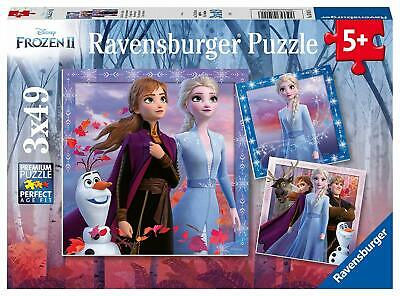Ravensburger Jigsaw Puzzle Frozen THE JOURNEY STARTS 3 x 49