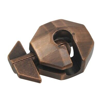 Turtle Alloy Shell Lock Puzzle Classic Metal Brain Teaser Iq