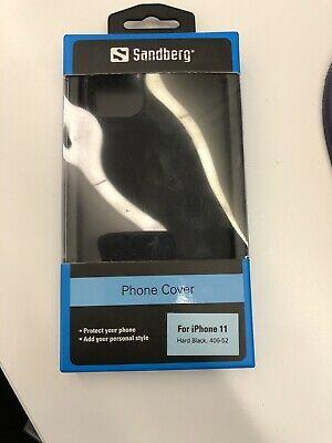 Sandberg Cover iPhone 11 Hard Black::  (Phones