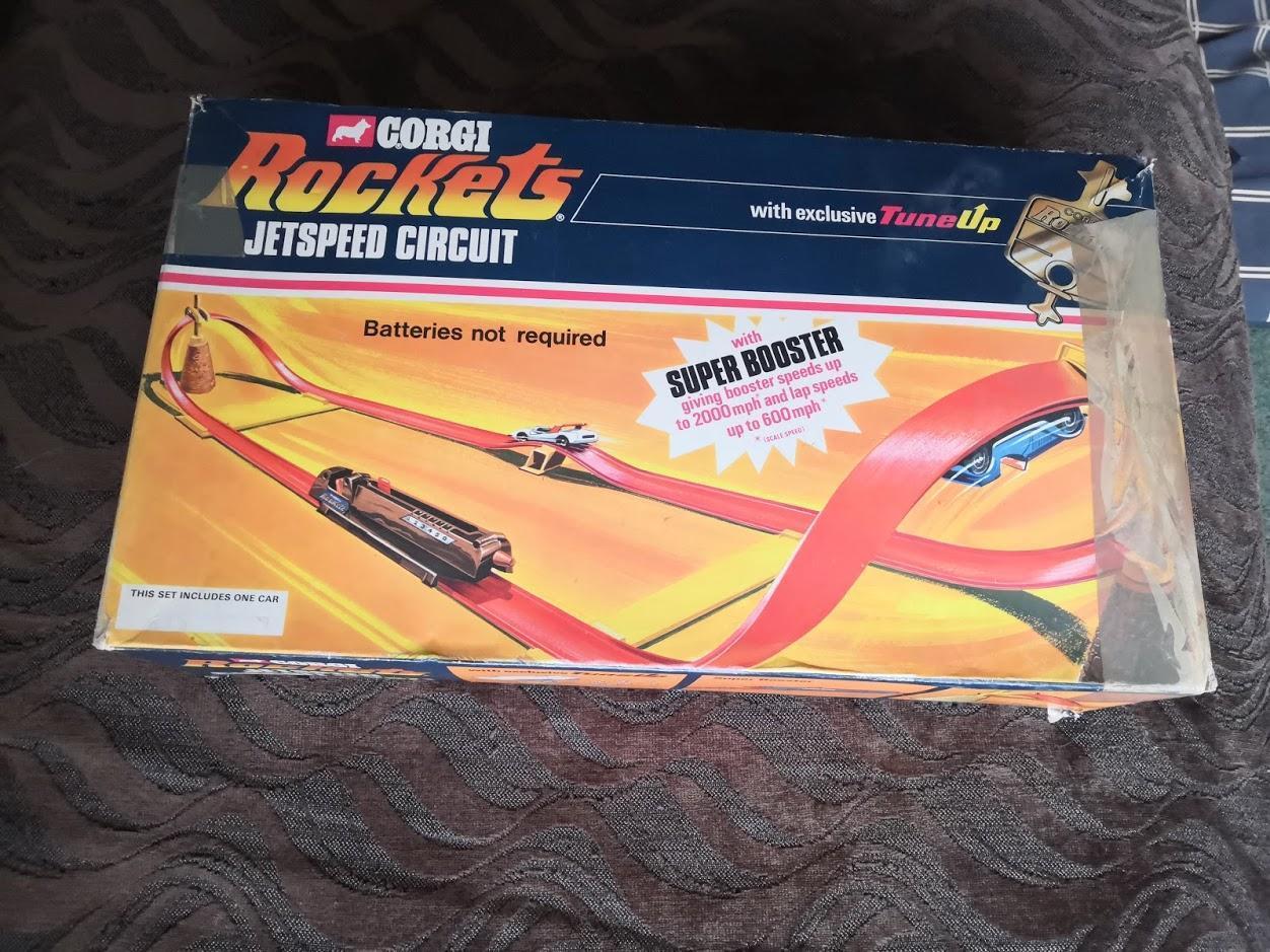 's Corgi Rockets JetSpeed Circuit, Lap Counter,