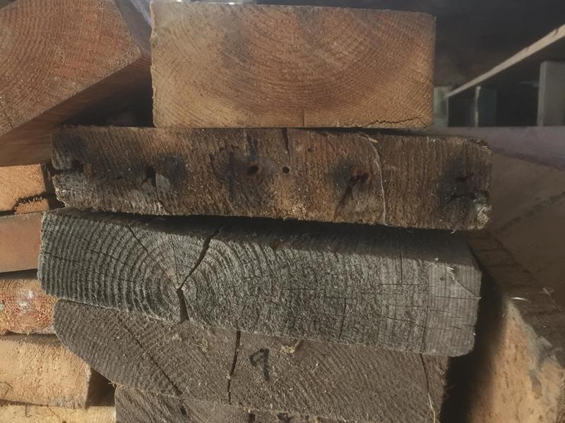 """9"""" x 2"""" timber 13ft 11 inches in length just £20 each"""