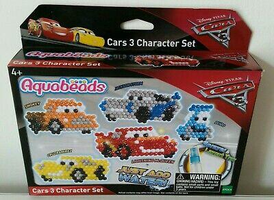 AQUABEADS DISNEY PIXAR CARS 3 CHARACTER SET BRAND NEW AQUA