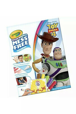 Crayola Toy Story 4 Color Wonder Mess Free Magic Colouring
