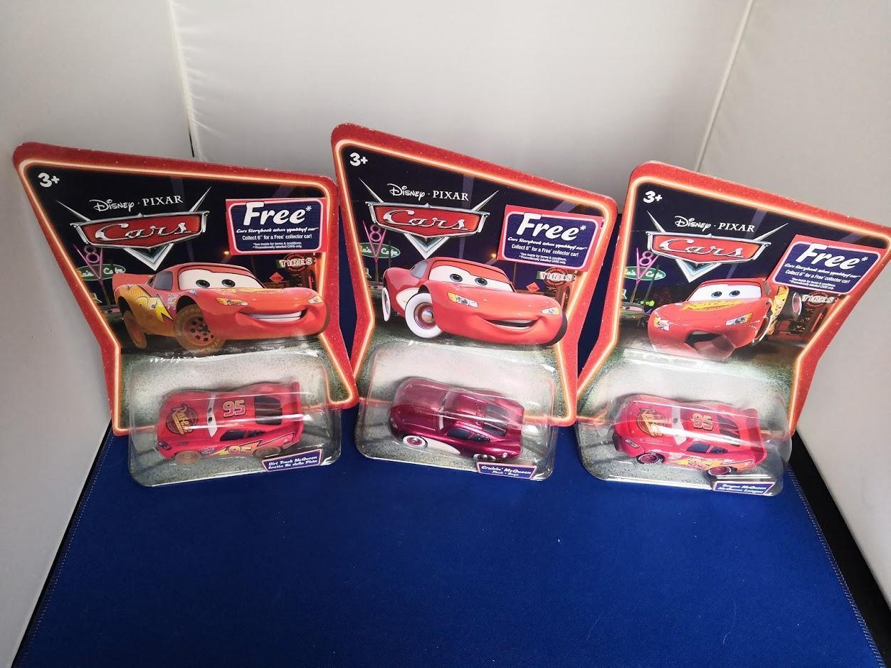 Disney Pixar Cars Lightning McQueen Collection