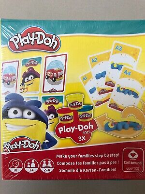Play Doh 2 in 1 Happy Families