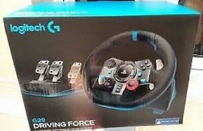 Logitech Driving Force G29 Gaming Steering Wheel, Gaming