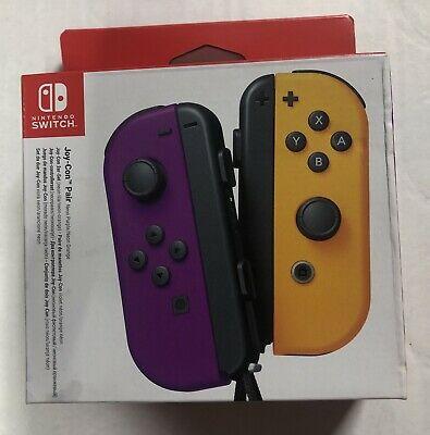 Nintendo Switch Joy-Con Controller Pair - Neon Purple/Neon