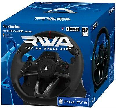 PS4 PlayStation 4 Hori RWA Racing Steering Wheel Apex New