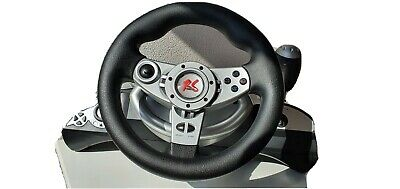 RS600 nano racing/ gaming steering wheel with pedals- In