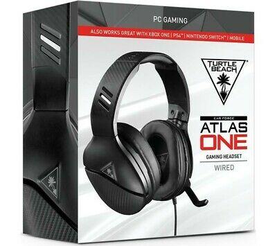 TURTLE BEACH Atlas One Gaming Headset - Black Brand New &