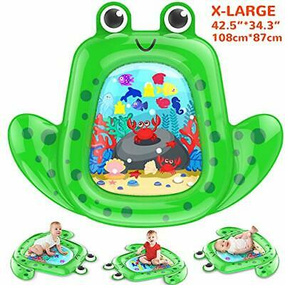 VATOS Tummy Time Baby Water Mat Infant & Baby Toy for 3 4 5