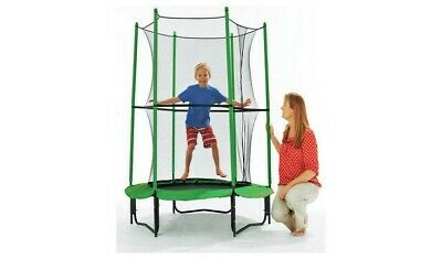 4ft My First Trampoline and Enclosure For Kids - Garden -