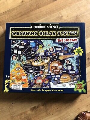 Horrible Science Smashing Solar System Jigsaw with 300
