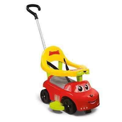 Smoby 3-in-1 Ride-on Car Red and Yellow Versatile Electric
