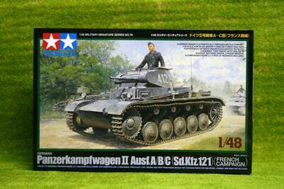 Tamiya GERMAN PANZER II Ausf A/B/C 1/48 Scale kit
