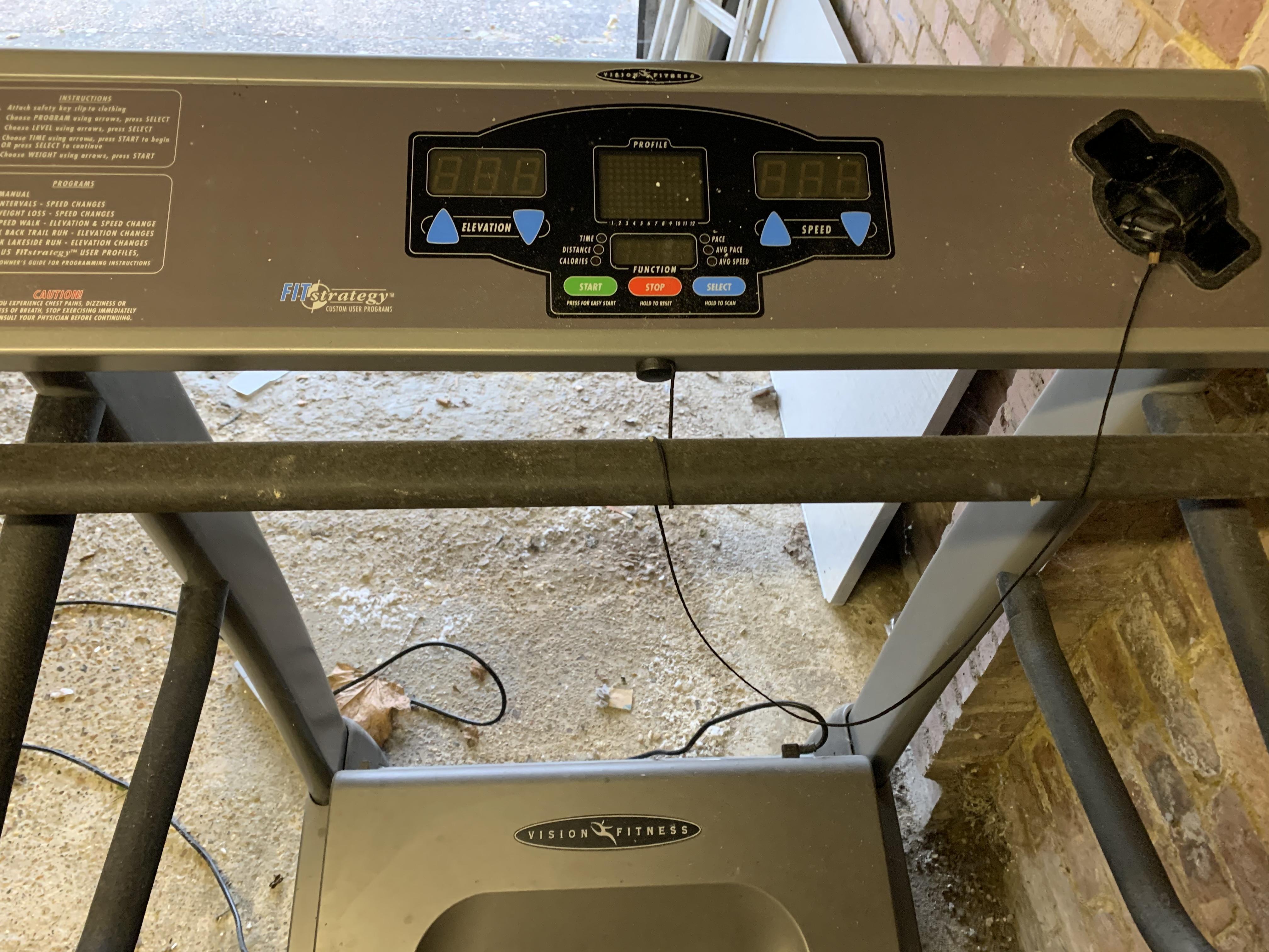 Vision Fitness Professional Treadmill