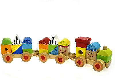 Andreu Toys TK Craft Trikes Stacking Train Toy,