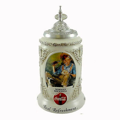 Anheuser-Busch EARLY ILLUSTRATORS STEIN Ceramic Coca Cola