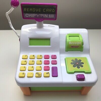 Cash Register Till Pretend Shop Toy With Chip and Pin