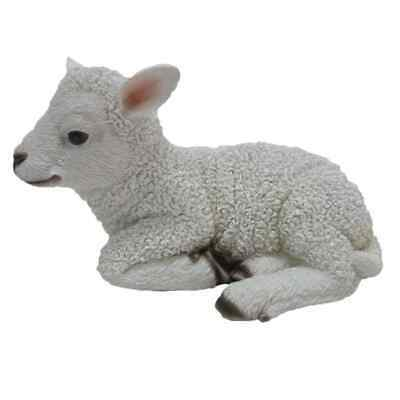 Esschert Design Lamb Laying 17.6x10.8x10.5 cm Outdoor Yard