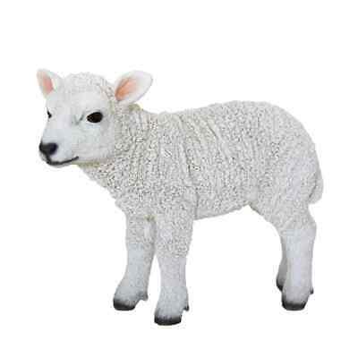 Esschert Design Lamb Standing 25.4x9.2x20.3c m Outdoor Yard